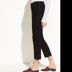 Vince Skinny Black Tux Pants